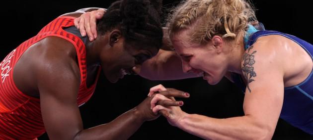 Черкасова будет бороться в бронзовом финале Олимпиады
