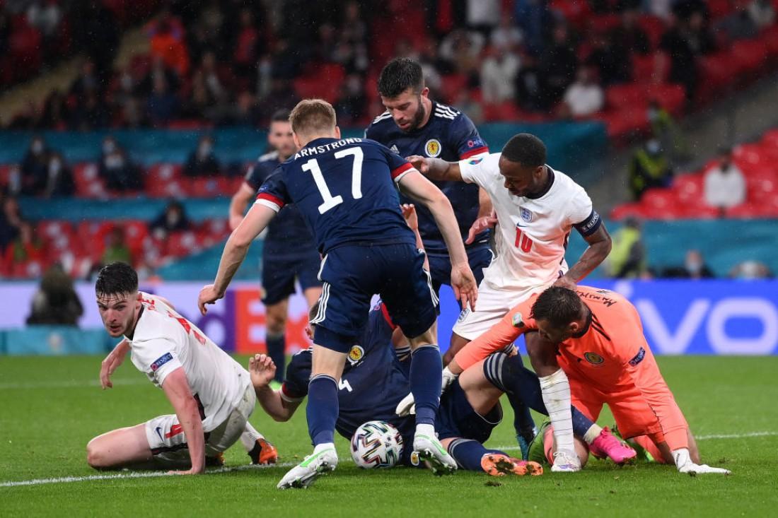 Англия и Шотландия сыграли вничью