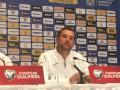 Шевченко: Нам важно сыграть в свою игру в матче с Португалией