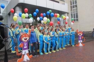 Украинскую сборную провели на III летние юношеские Олимпийские игры