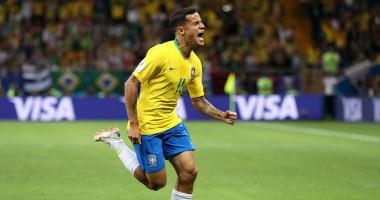 ЧМ-2018: видео впечатляющего гола Коутиньо в матче Бразилия - Швейцария