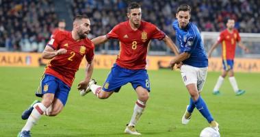 Италия – Испания 1:1 Видео голов и обзор матча отбора на ЧМ-2018
