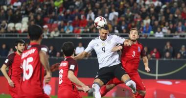 Германия - Азербайджан 5:1 Видео голов и обзор матча отбора ЧМ-2018