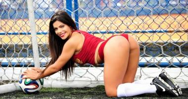 Обладательница лучших ягодиц Бразилии снялась в эротической фотосессии, посвященной ЧМ-2018