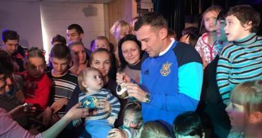 Шевченко навестил детей в реабилитационном центре Одессы