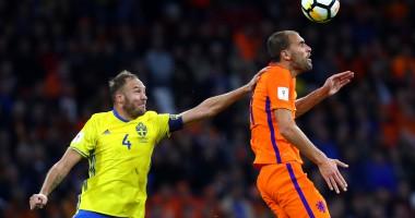 Нидерланды - Швеция 2:0 Видео голов и обзор матча отбора ЧМ-2018