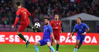Три безответных гола в ворота сборной Португалии, которые забила Голландия