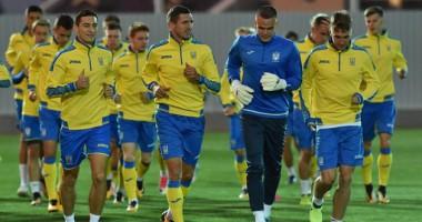 Сборная Украины провела первую тренировку перед матчем с Турцией
