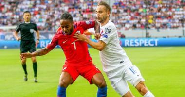 Словакия - Англия 0:1 Видео гола и обзор матча отбора на ЧМ-2018