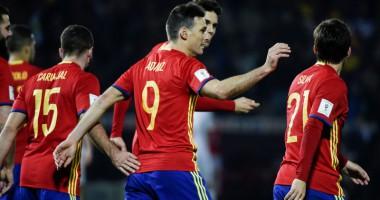 Испания - Македония 4:0 Видео голов и обзор матча отбора на ЧМ-2018