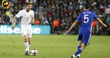 Израиль - Испания 0:1 Видео голов и обзор матча отбора ЧМ-2018