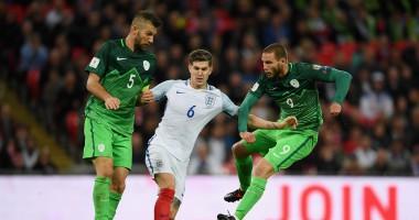 Англия - Словения 1:0 видео гола и обзор матча отбора на ЧМ-2018