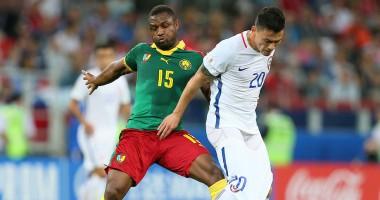 Курьез: игрок сборной Камеруна шипом бутсы стянул трусы с соперника