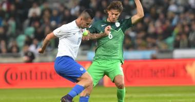 Словения – Словакия 1:0 Видео голов и обзор матча отбора на ЧМ-2018