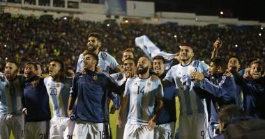 Эквадор - Аргентина 1:3 Видео голов и обзор матча отбора ЧМ-2018