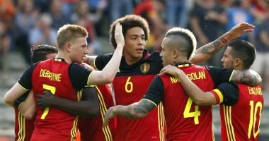 Бельгия - Греция 1:1 Видео голов и обзор матча отбора на ЧМ-2018