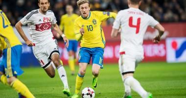 Швеция - Беларусь 4:0 Видео голов и обзор матча отбора на ЧМ-2018