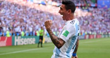ЧМ-2018: Ди Мария пушечным ударом застал врасплох сборную Франции