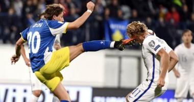 Косово - Финляндия 0:1 Видео голов и обзор матча
