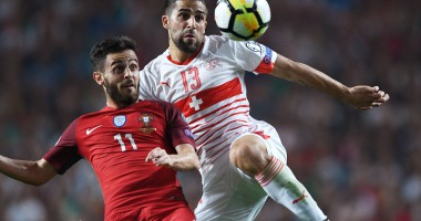Португалия - Швейцария 2:0 Видео голов и обзор матча отбора ЧМ-2018