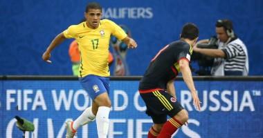 Тайсон прибыл в расположение сборной Бразилии