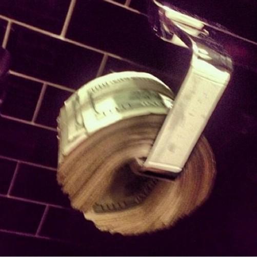 Фото денег вместо бумаги