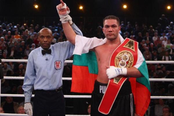 Пулев хочет выйти в ринг против Владимира Кличко