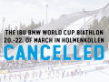Заключительный этап Кубка мира по биатлону в Норвегии отменен