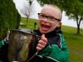 Мальчик с синдромом Дауна претендует на звание автора лучшего гола месяца в Шотландии