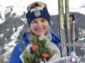 Журавок отправили на Кубок IBU, где она сразу же выиграла короткую индивидуальную гонку