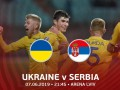 Сборная Сербии проведет матч против Украины без болельщиков