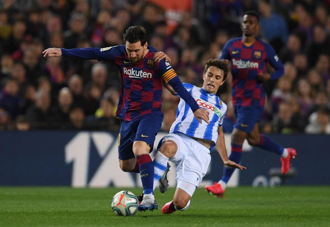 Барселона - Реал Сосьедад: видео гола