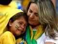 Неутешное горе бразильцев: Лучшие фото болельщиков с матча за 3-е место