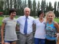 Где-то от Азарова: Премьер-министр открыл спорткомплекс в Донецке