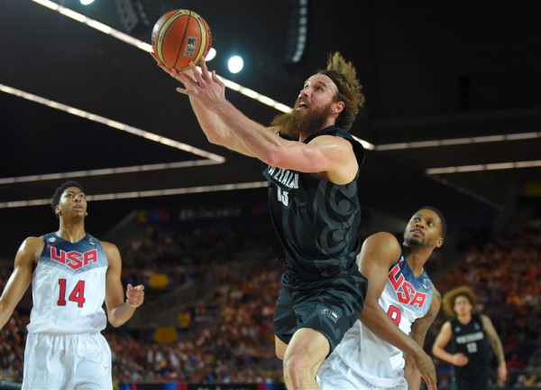 Новая Зеландии против команды США