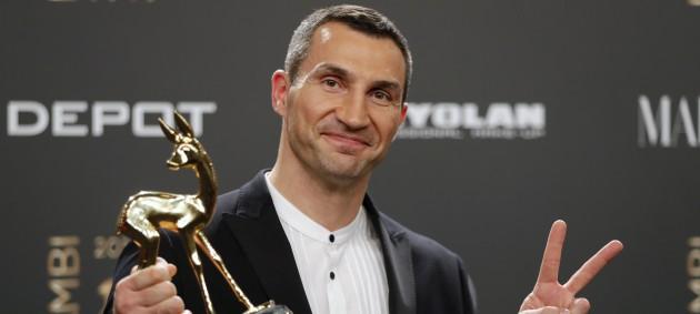 Кличко стал лауреатом престижной немецкой премии