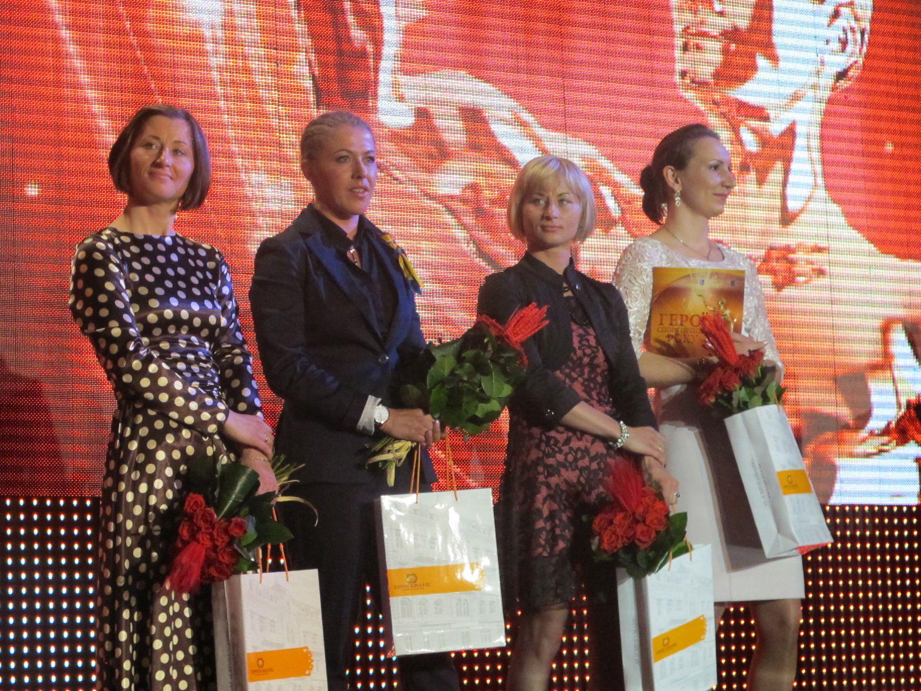 Вита Семеренко, Юлия Джима, Валя Семеренко и Елена Пидгрушная