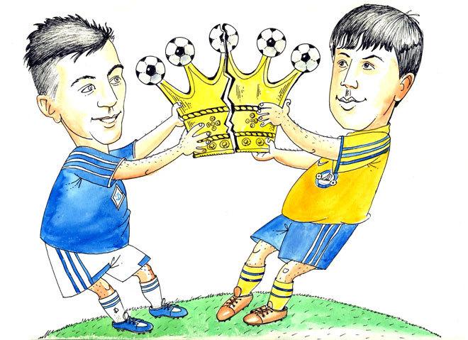 Ярмоленко и Коноплянка поделили футбольную корону