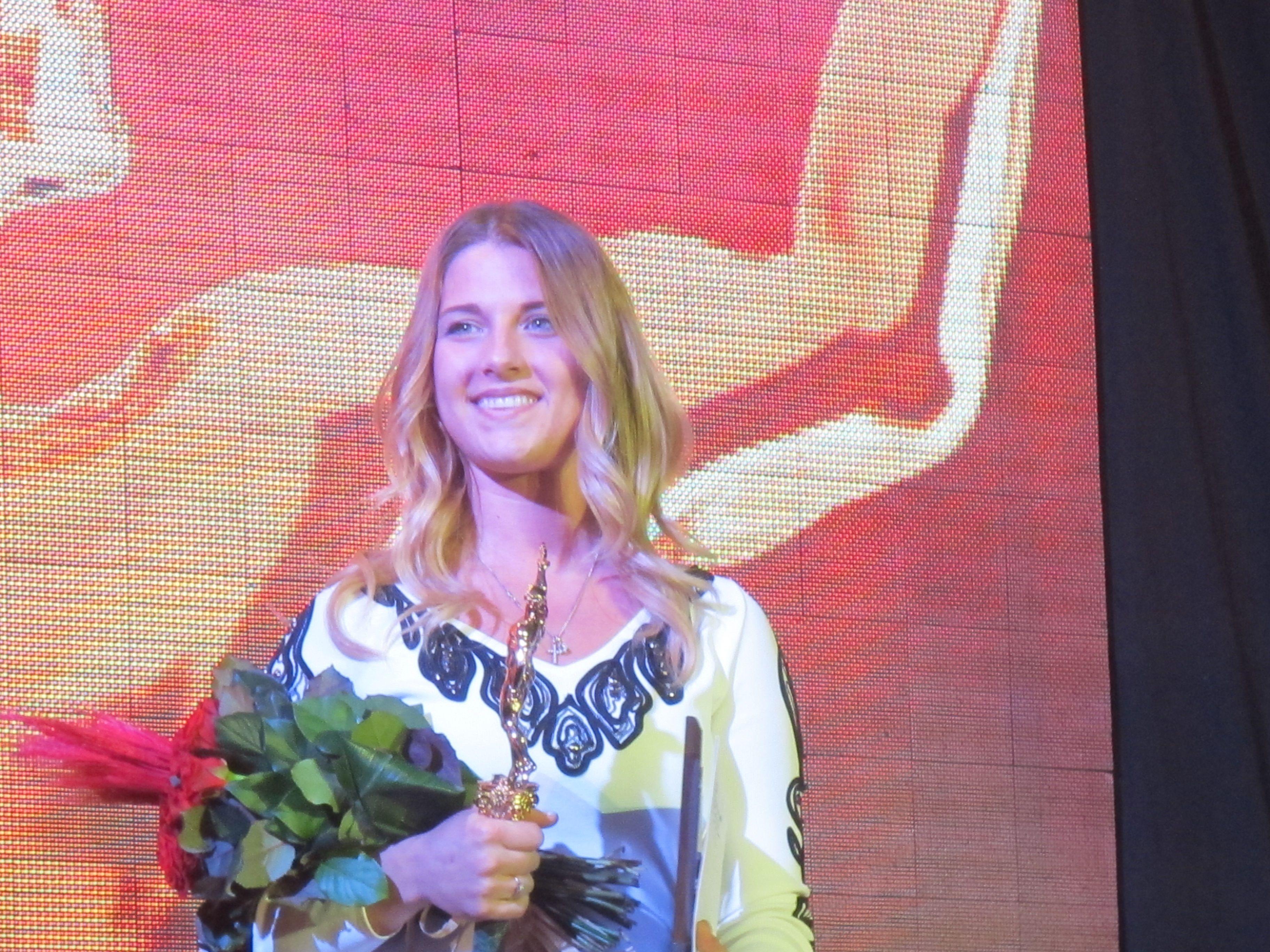 Ольга Харлан - герой украинского спорта