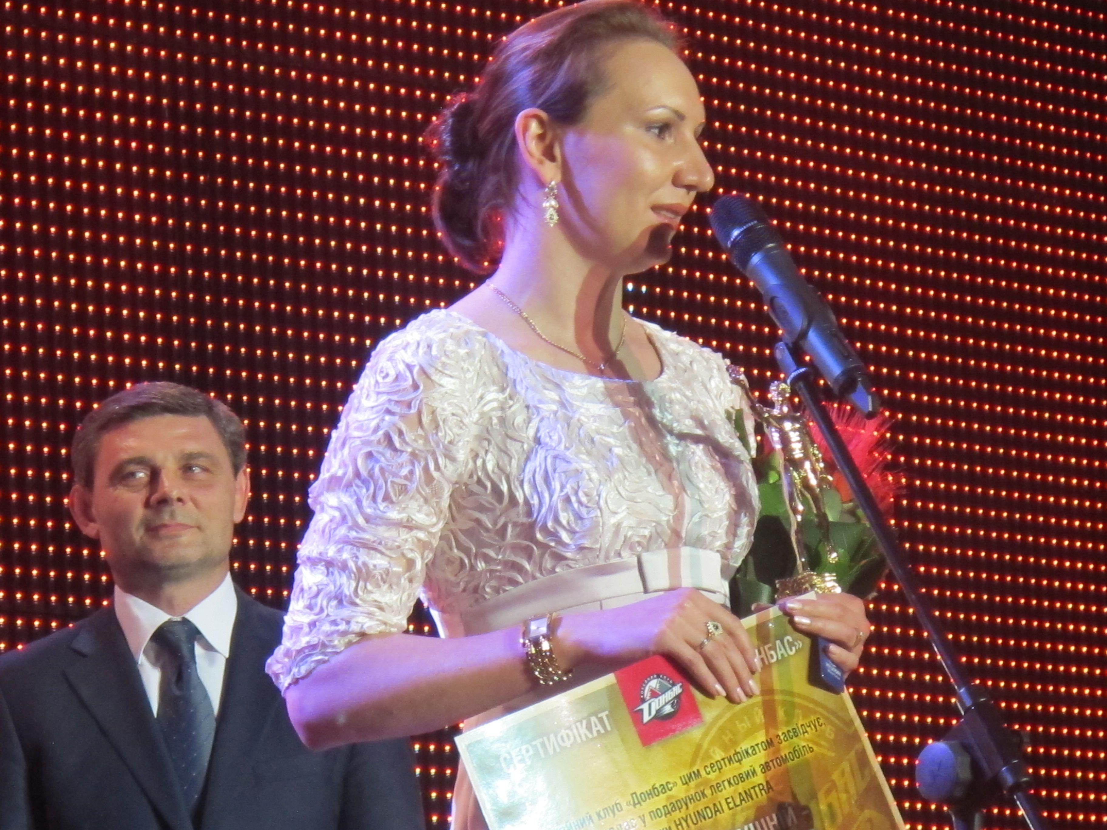 Елена Пидгрушная - лучшая спортсменка Украины