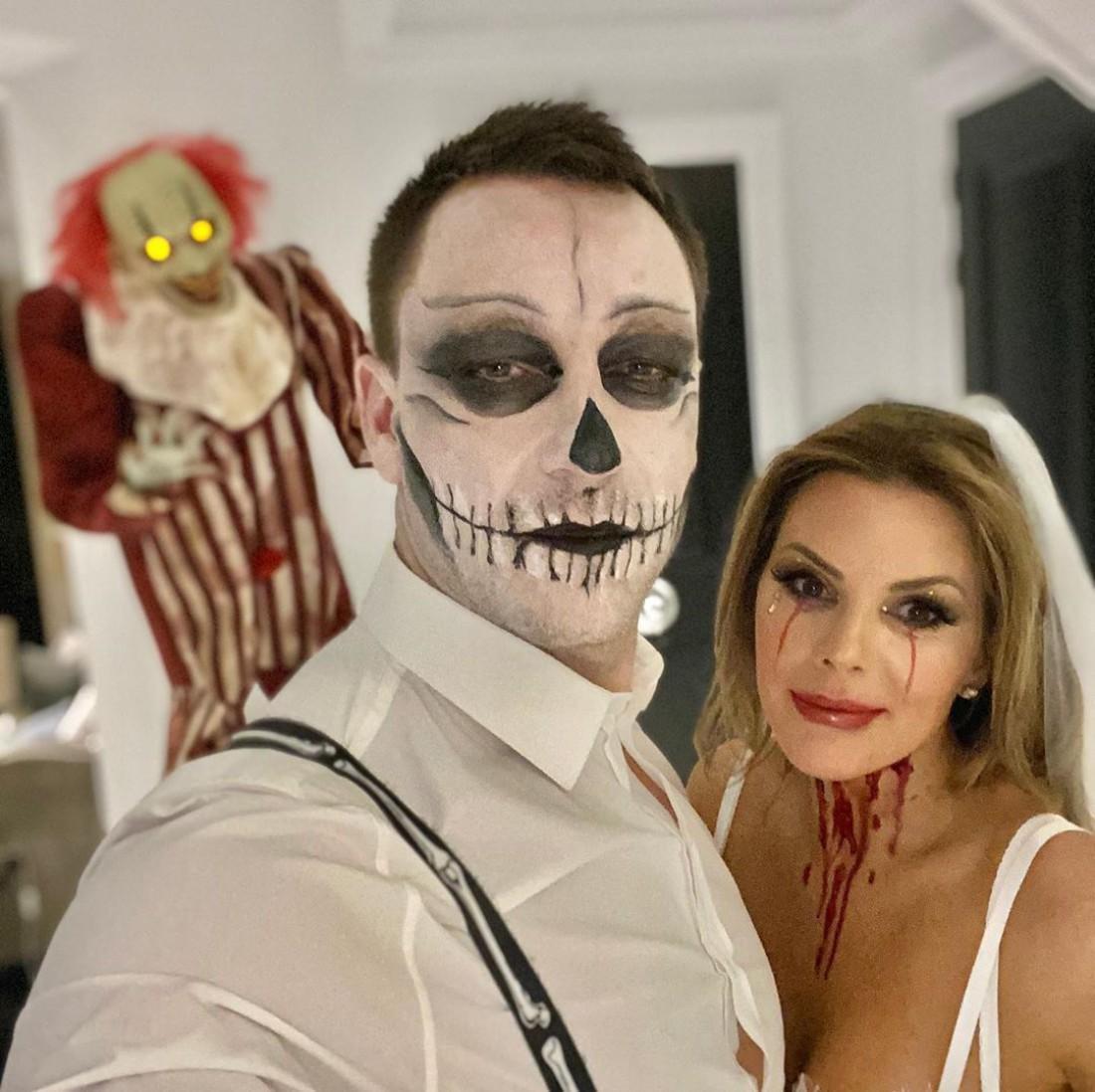 Джон Терри и его супруга в образах
