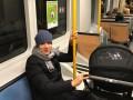 Коноплянка приучает ребенка к общественному транспорту