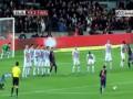 Исполнил Вилья. Барселона побеждает Алавес в Кубке Короля