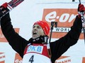 Биатлон: Бьорндален выигрывает гонку преследования