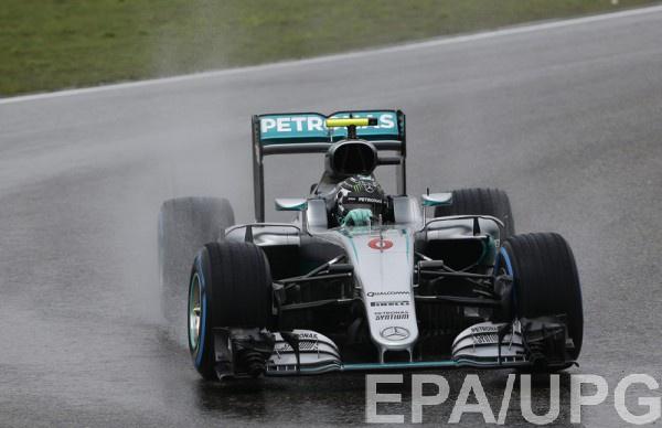 Росберг выиграл квалификацию Гран-при Китая