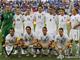All Whites перед своим вторым матчем на ЧМ-2001