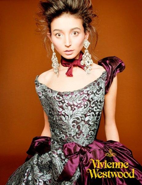 Эвелина для Vivienne Westwood Couture