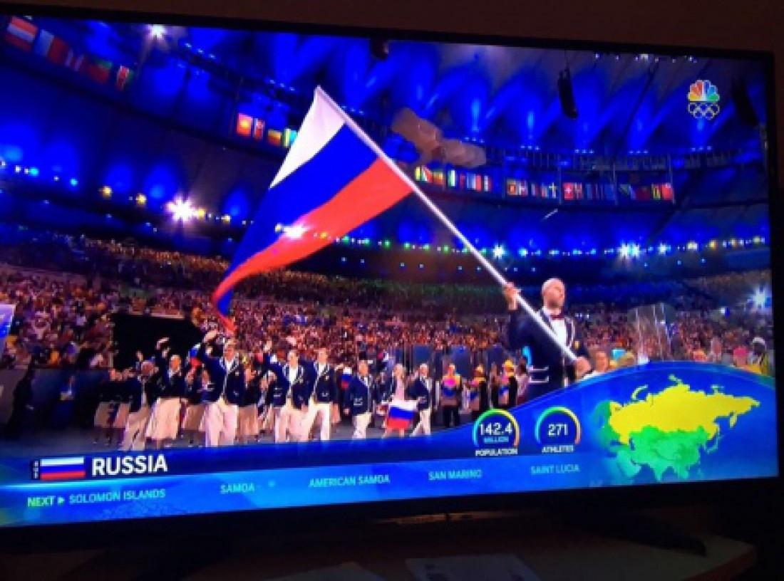 На карте России Крым отсутствует