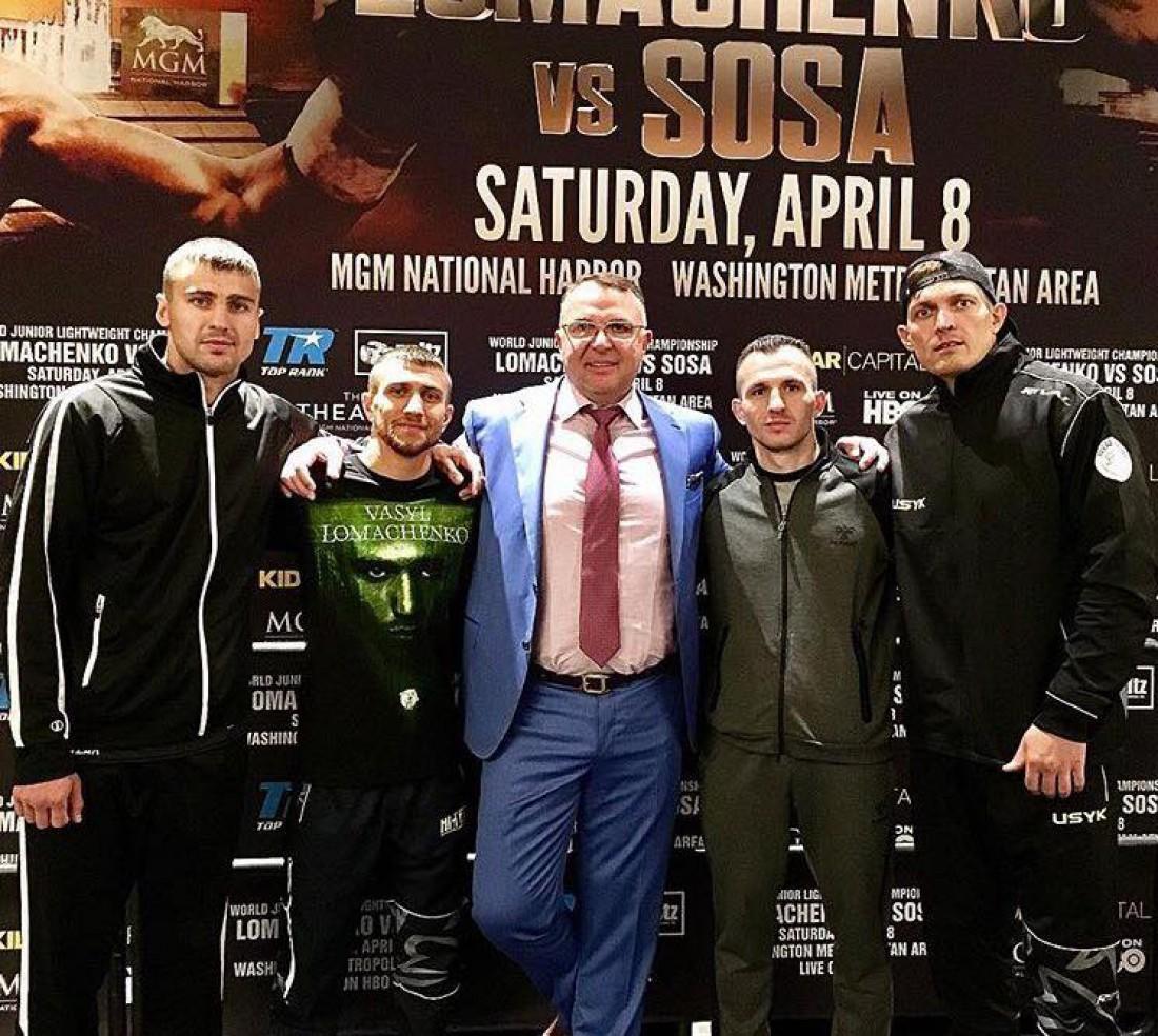 Украинские боксеры дали пресс-конференцию