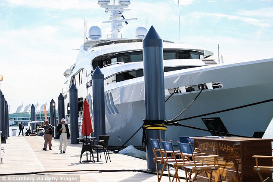 Яхта, на которой готовится Дэвид Хэй